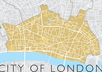 City Of London Vector - vector gratuit #303405