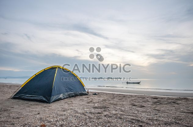 Tent on the beach - Free image #303755