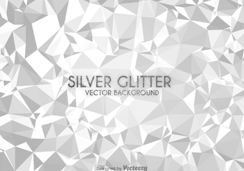 Free Silver Low Poly Vector Background - Kostenloses vector #303885