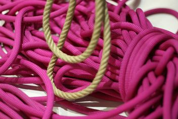 bright pink ropes #background #texture - бесплатный image #304065