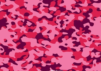 Abstract Fashion Pink Camo Vector - Free vector #304275