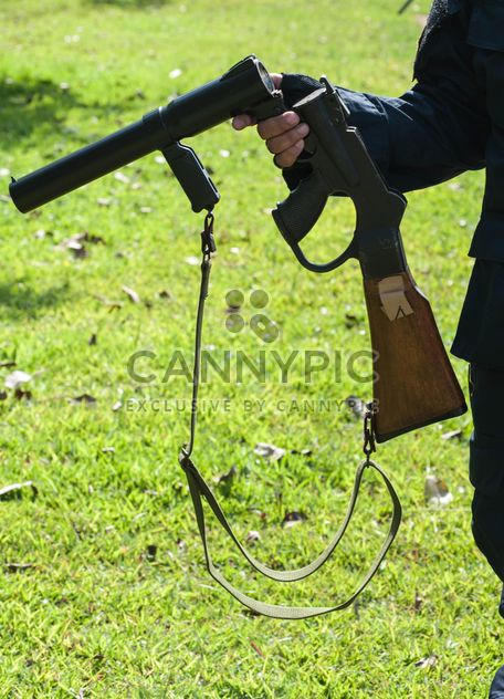 Police training rifle - image #304595 gratis