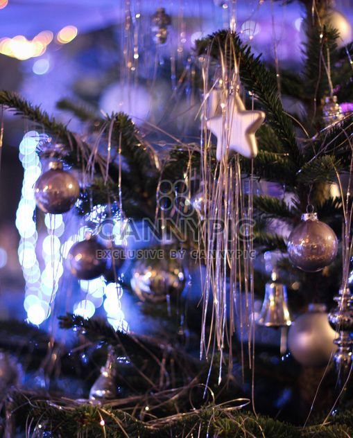 Christmastree silver stars - Free image #304705