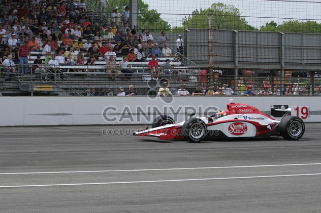 Mario Moraes racing at Indy - Free image #304775