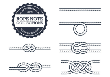 Rope Knot Collections - vector #305065 gratis