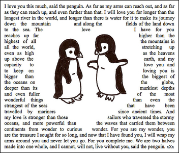 Penguin Love - image #308245 gratis