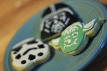 Star Wars Cookies for Moose's 5th Birthday - image #308755 gratis