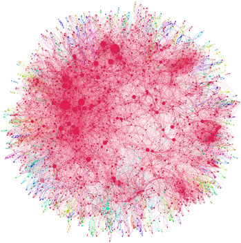 Co-authorship network map of physicians publishing on hepatitis C - бесплатный image #309335
