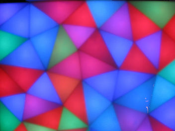 Neon Triangles - image #309815 gratis