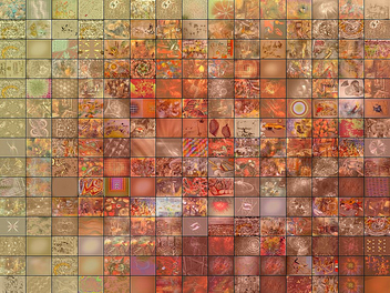 Orange - Fractal Mosaic - Free image #309915