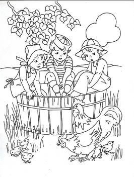 Coloring book kids - Free image #310325