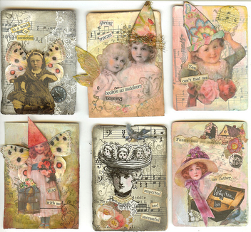 First Six ATCs - Free image #310425