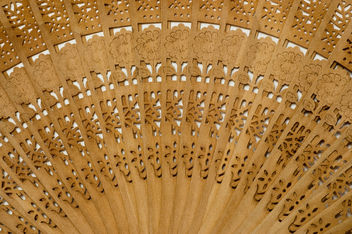 Texture: Wooden Fan - Free image #311685