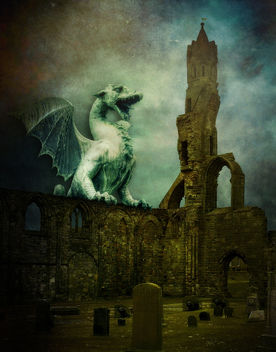 * The Watcher Of The Graveyard * - image gratuit #312595