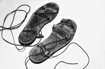 Jesus Shoes B&W - image gratuit #312725