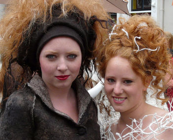 Double ginger. Redhead district, Breda - image gratuit #314225