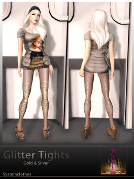 [LeeZu!] Glitter Tights AD - бесплатный image #315485