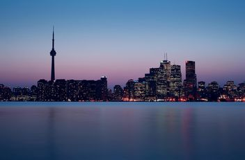 Sunset in Toronto, Canada - бесплатный image #317375