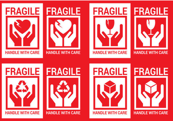 Free Handle With Care Vector - vector gratuit #317525