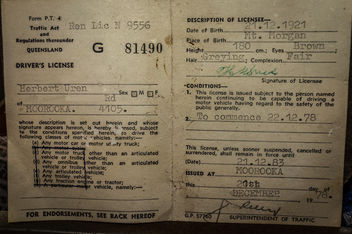 1978 Drivers License - image #319335 gratis