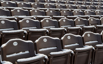 William & Mary - Snow-Covered Amphitheater Seating - image #321255 gratis