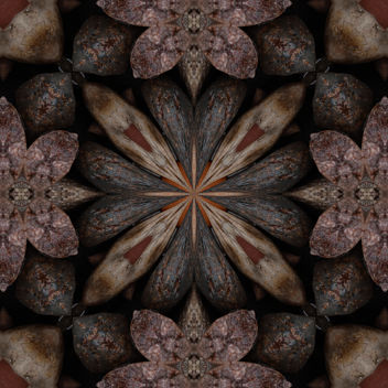 Rocks and Leaves - Kaleidoscope - image #321395 gratis