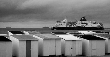 Ferry Monochrome #Calais #France - Free image #323835