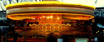 London Carousel #dailyshoot #leshainesimages - Kostenloses image #323975