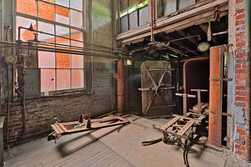 Abandoned Lonaconing Silk Mill - HDR - Free image #324775