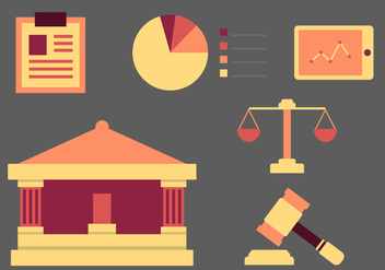 Free Law Office Vector Icons #7 - бесплатный vector #326585