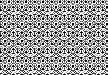 Black And White Circle Pattern - Kostenloses vector #326685