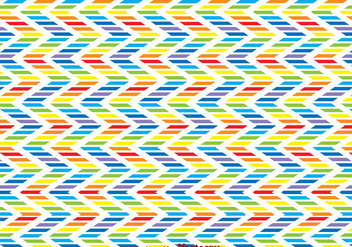 Rainbow Zig Zag Background - Free vector #326695
