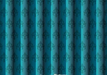 Blue Wall Tapestry - Free vector #327125