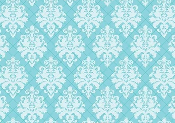 Blue Ornament Wall tapestry - Free vector #327135