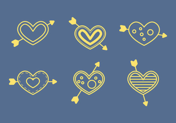 Free Heart Vector Icons #5 - бесплатный vector #327485