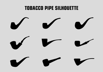 FREE TOBACCO PIPE SILHOUETTE - Free vector #327685