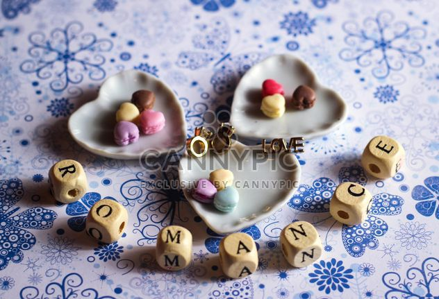 WORD love made from wooden letters - image #327765 gratis