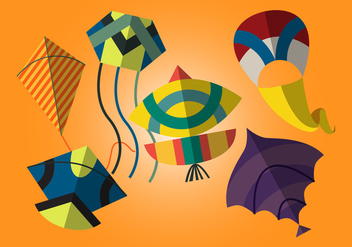 Vector Basant - The Indian Kite Festival - vector gratuit #327985