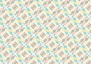 Pastel Geometric Abstract Pattern Vector - Kostenloses vector #328785