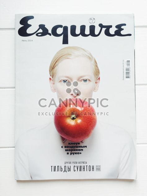 #smart #Breakfast #Esq #Tilda #Swinton #Apple #iphoneography - Free image #329155