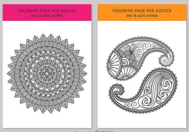 Descargar Vector Gratis Para Colorear Páginas Para Adultos Gratis ...