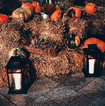 Pumpkin decor - image gratuit #330455