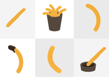 Churros Vectors - Free vector #330505