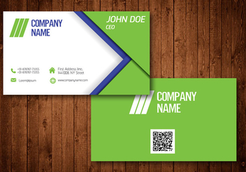 Creative Business Card - vector #330555 gratis