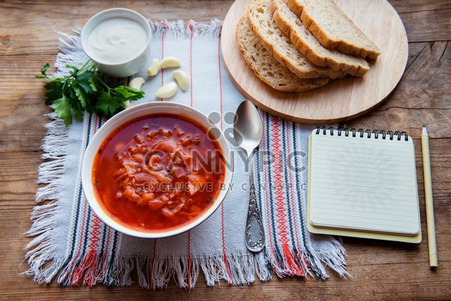Borsh, Ukrainian and Russian cuisine - бесплатный image #330705