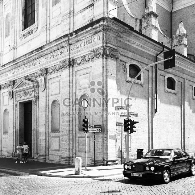 Bentley car on street of Rome - Free image #331195