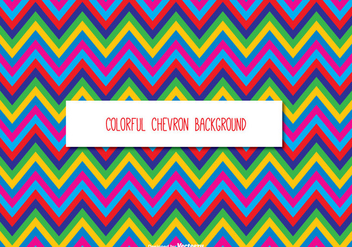 Colorful Chevron Background - Kostenloses vector #331215