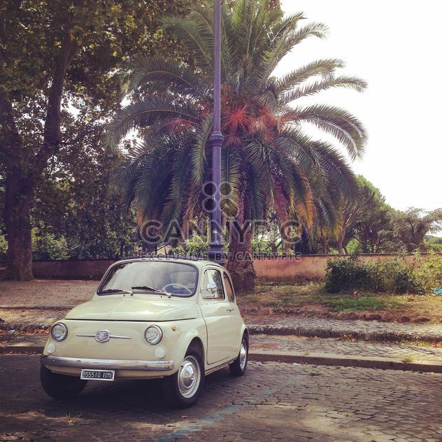 Old Fiat 500 Car - Free image #331575