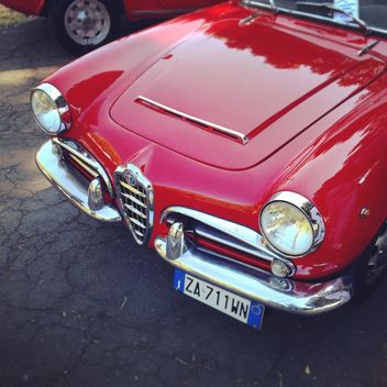 Red Alfa Romeo car - image #331615 gratis