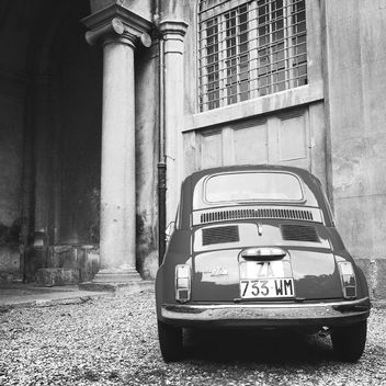 Old Fiat 500 car - Free image #331735
